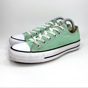 Converse All Star Shoes Mint Green Low Top Sneaker